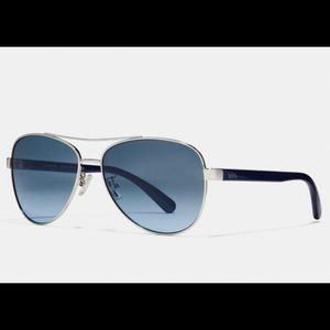 NWT Coach Pilot Sunglasses